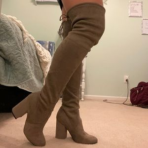 "Steve Madden ""Nori"" Colored Thigh High Boots"